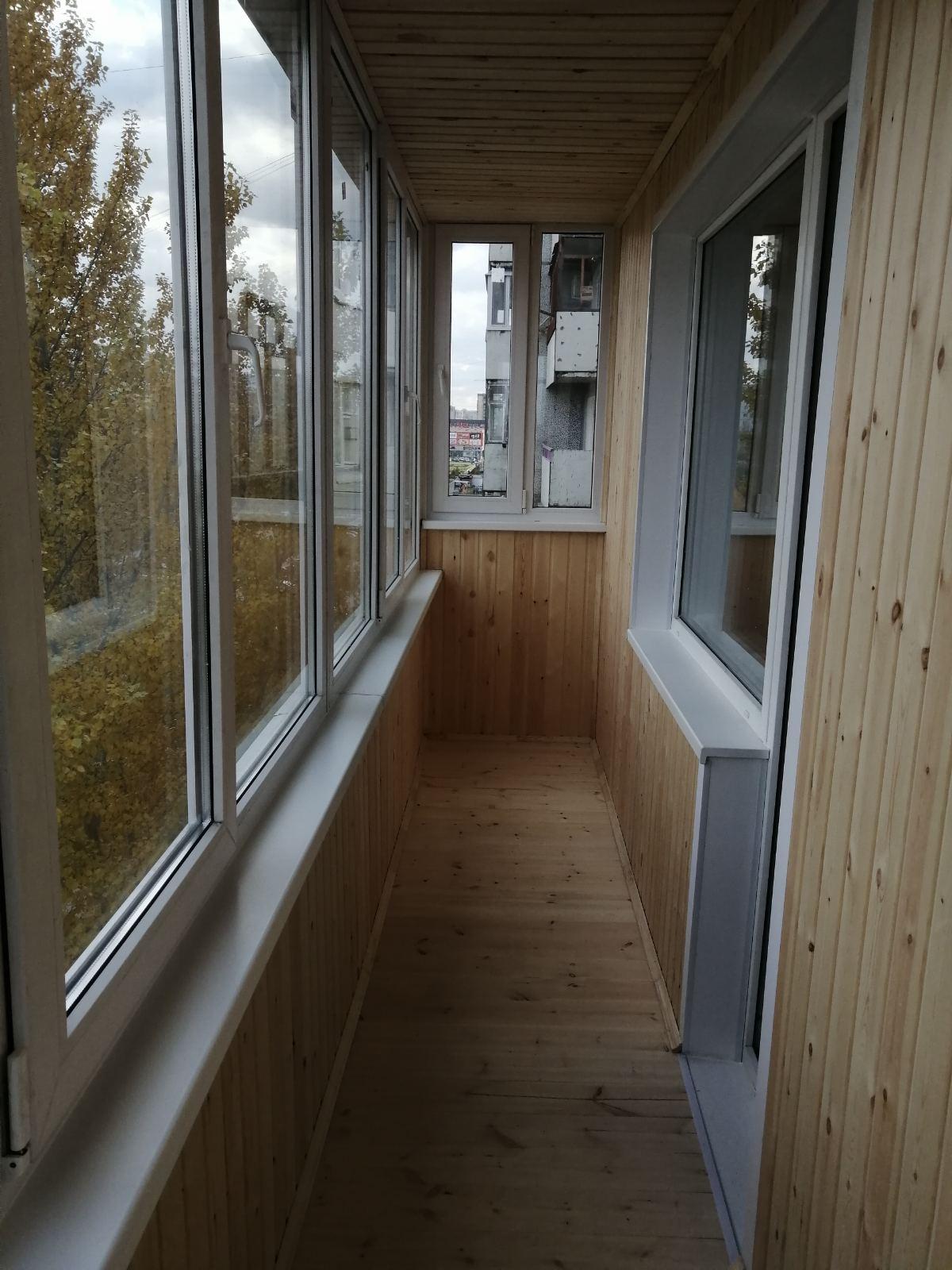 остекление балконов и лоджий омск